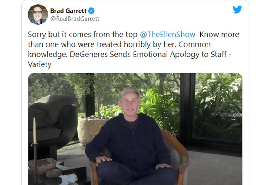 Brad Garrett been on twitter