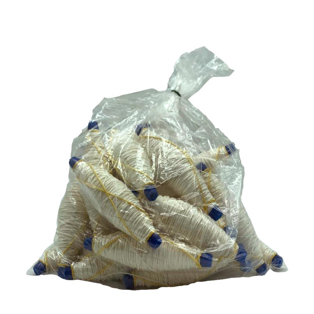Spago spolette bianco 2/6 per salsicce e cacciatorini - Dama Srl