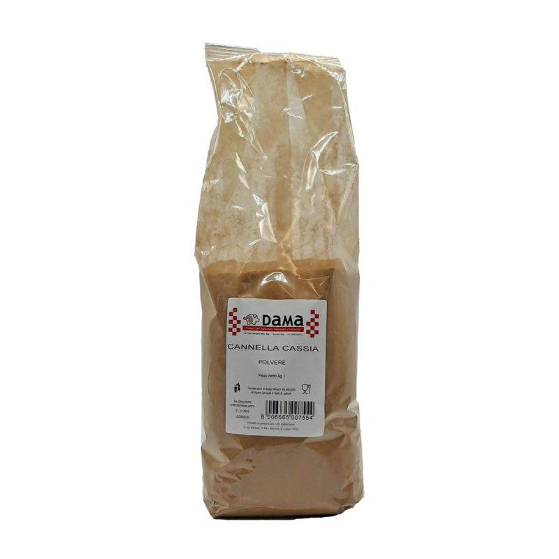 Cannella Cassia in polvere per salumi e salmistrati - Confezioni da 100 gr a 1 kg