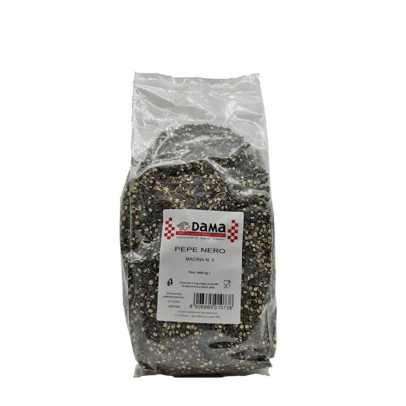 Pepe nero mezza grana per salumi e salmistrati - Confezioni da 100 gr a 1 kg