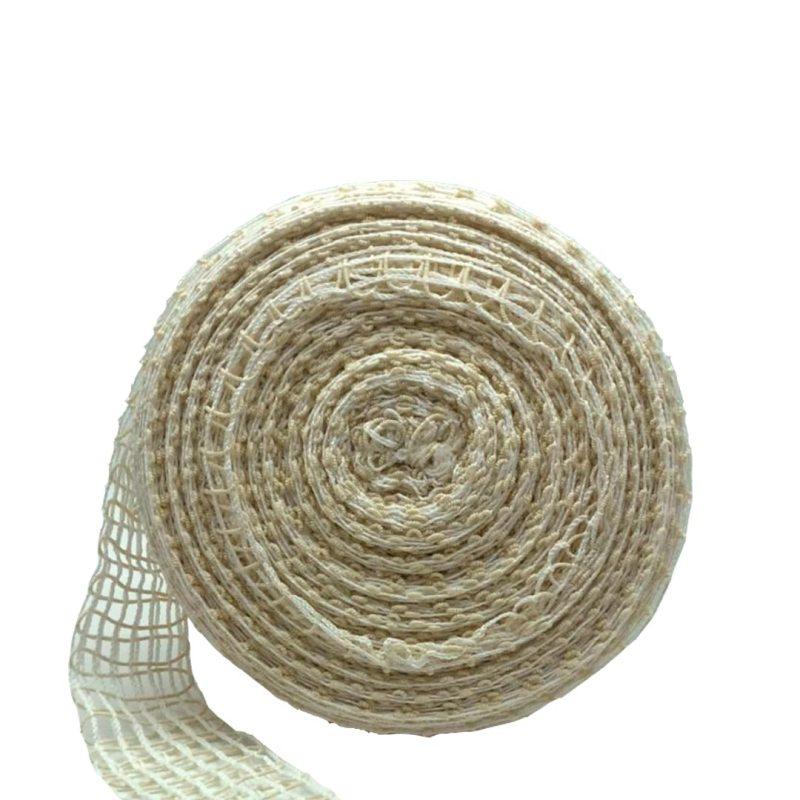 Rete elastica bianca per salumi, arrosti e insaccati - Dama Srl