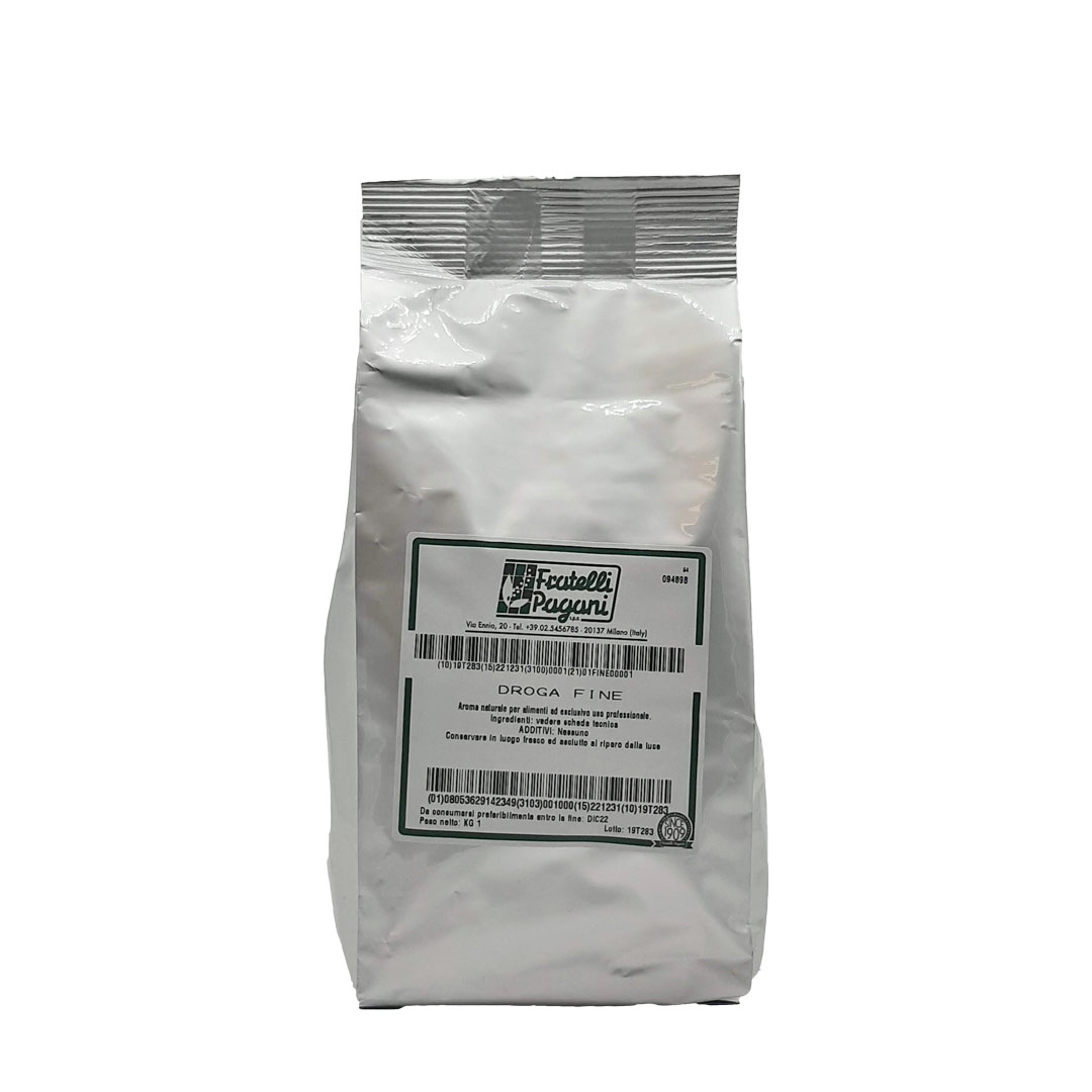 Droga fine per insaporire salumi e salmistrati - Confezioni da 100 gr a 1 kg