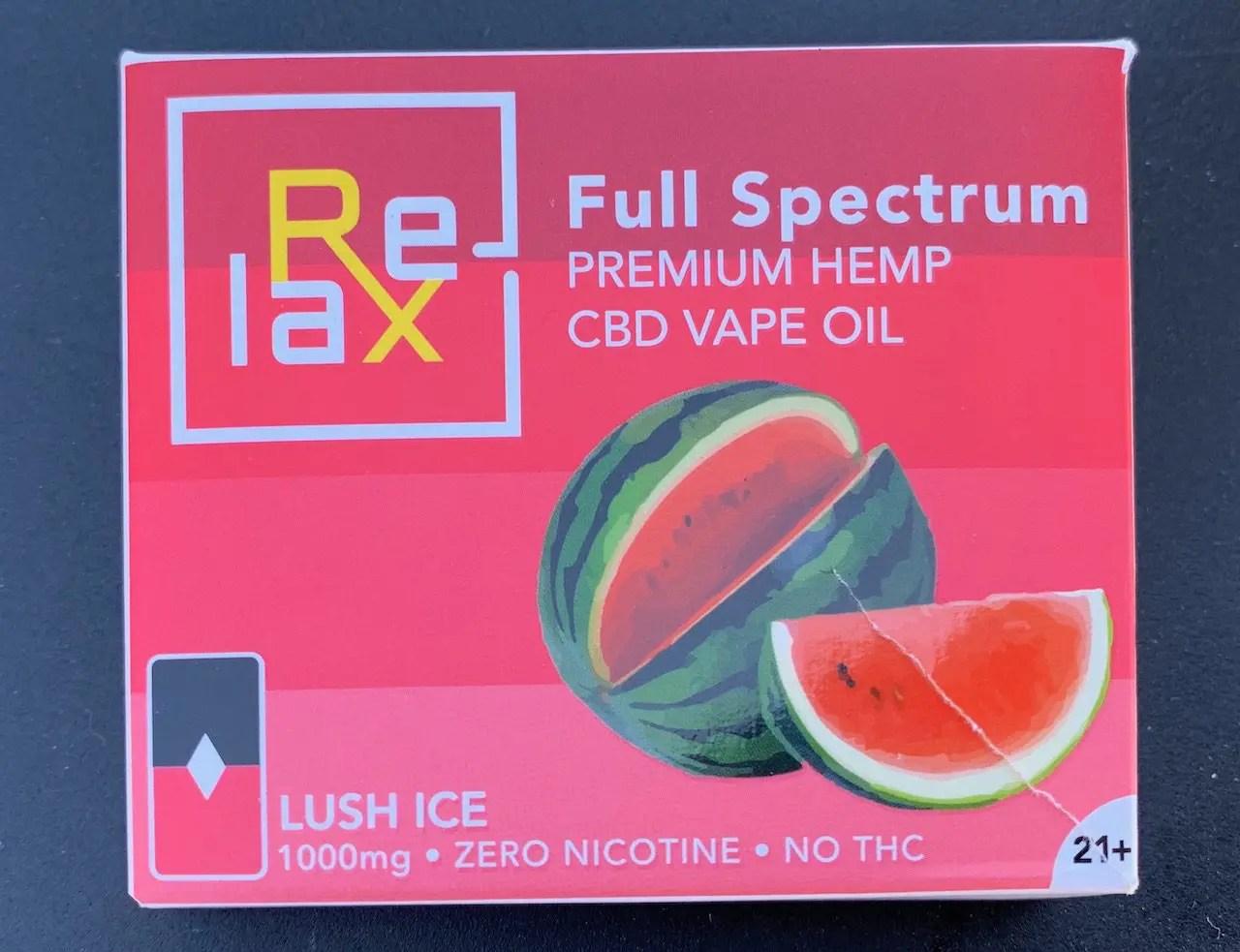 图1:  Full Spectrum Premium Hemp CBD VAPE OIL 整株优选汉麻CBD电子烟油