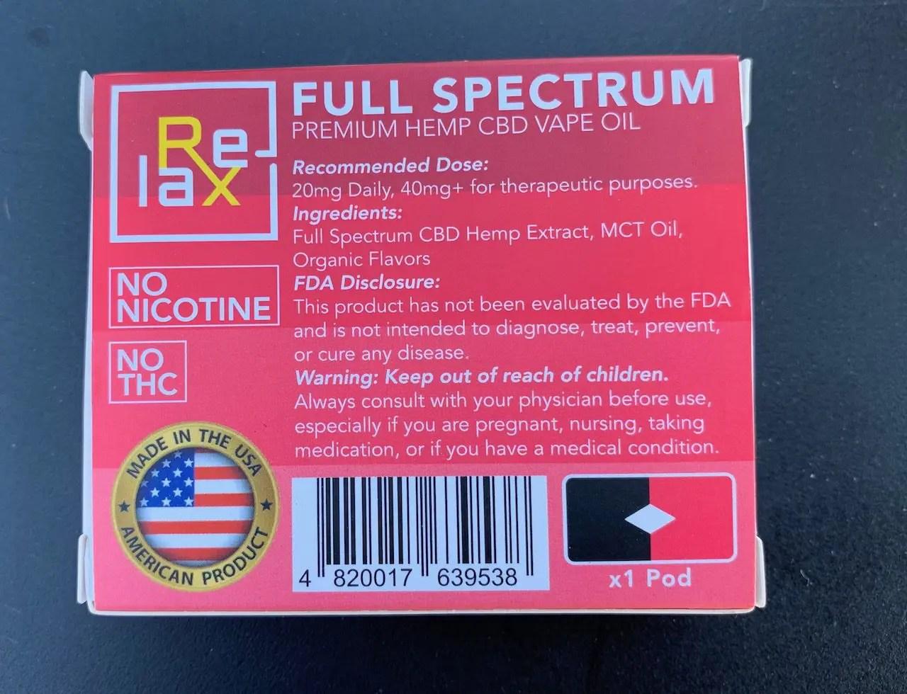 图2: Recommended Dose: 20mg Daily, 40mg+ for therapeutic purposes. 推荐用量: 每天20毫克,用于医疗目每天可以40毫克以上。  Ingredients: Full Spectrum CBD HTMP Extract, MCT Oil, Organic Flavors 成分: 整株汉麻提取的CBD,三酸甘油脂油,天然香料  FDA Disclosure: This Product has not been evaluated by the FDA and is not intended to diagnose, treat, prevent, or cure any disease. 美国食品药品监督管理局相关披露 本产品未经美国食品药品监督管理局评估,不可以用于医疗目的。  Warning: Keep out of reach of children. Always consult with your physician before use, especially if you are pregnant, nursing, taking medication, or if you have a medical condition. 警告:请防止小孩使用 使用本产品请谨遵医嘱,尤其是孕妇,哺乳期,或在使用其它药物期间。   NO NICOTINE, NO THC MADE IN THE USA AMERICAN PRODUCT 不含尼古丁,不含THC 美国制造,美国产品
