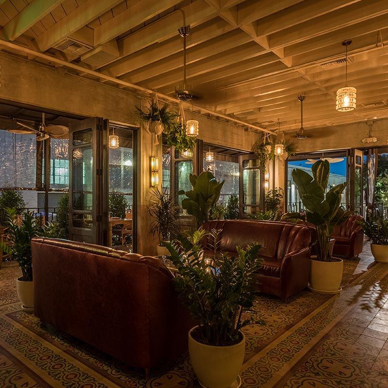 DAMA Lounge Area