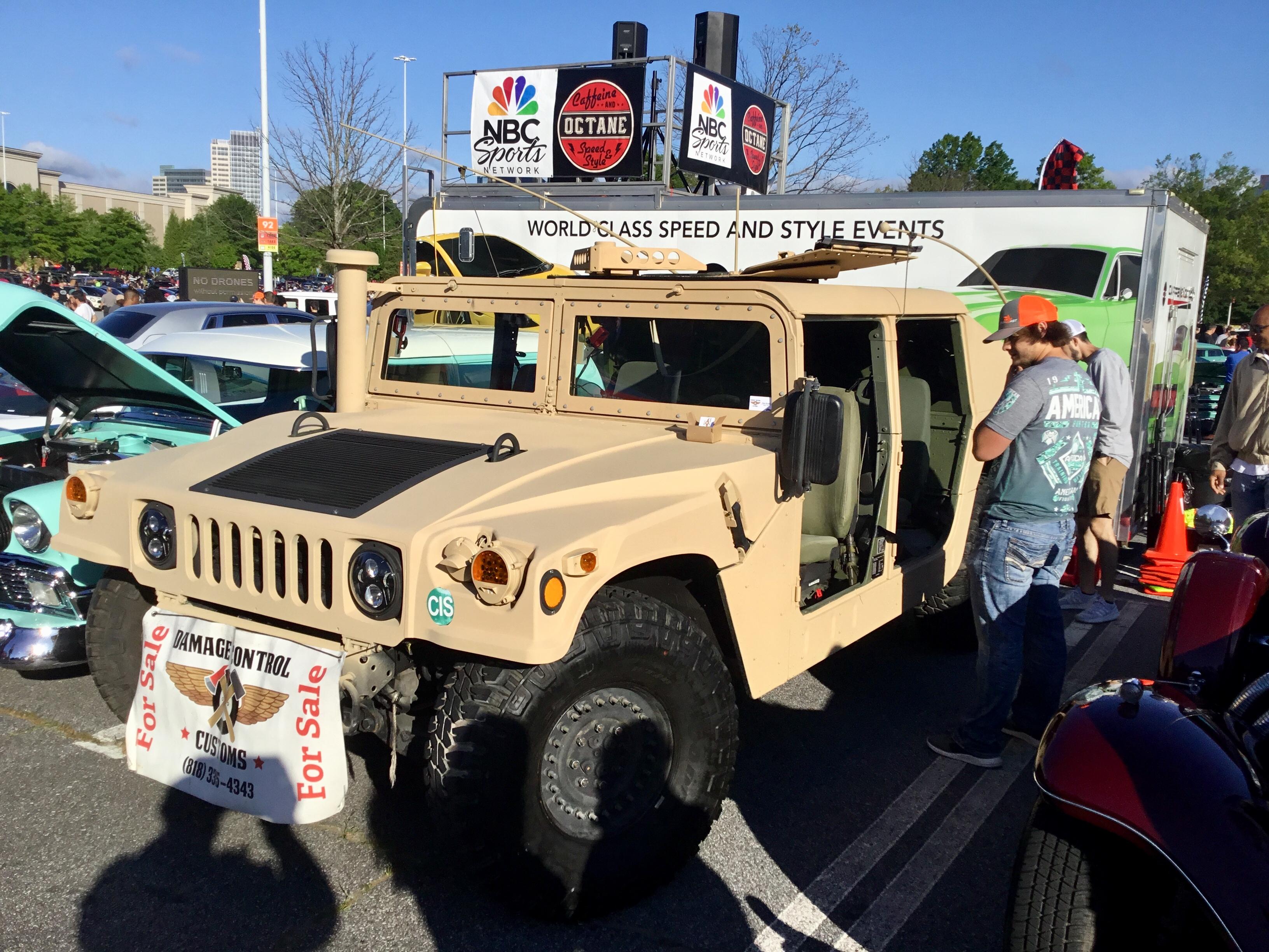 EXTERIOR X-door latches TAN handles Humvee M998 4 Double LockIng INTERIOR