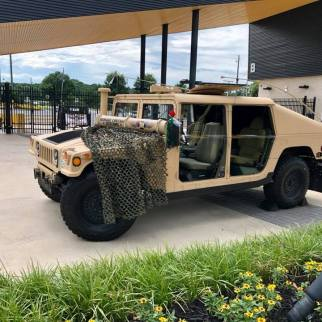 This is a USMC 1045 truck