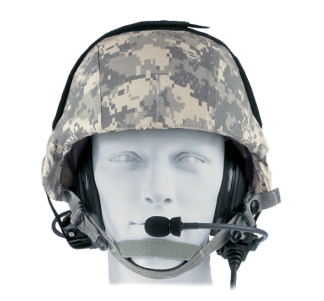 SERIES 2 MILITARY BOSE TRIPORT TACTICAL HEAD SET HMMWV HUMVEE for VIC-3/VRC Intercom
