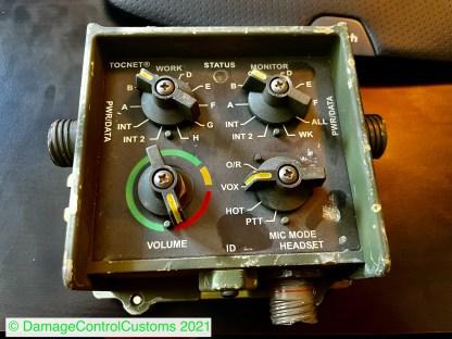 Electrical Control Panel 5483600-001 SCI TOCNET-V Radio Interface HMMWV HUMVEE LMTV