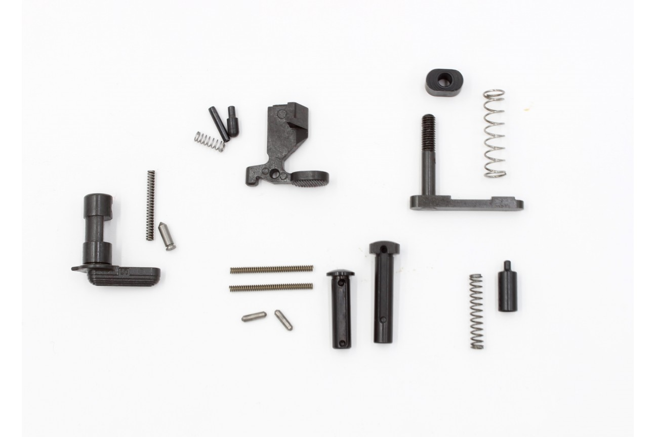 Ar 15 M16 18 Pc Lower Receiver Parts Kit W O Fire Control