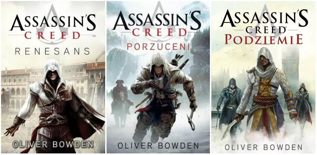ksiazki na podstawie gier assassin's creed