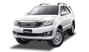 rental fortuner TRD Solo