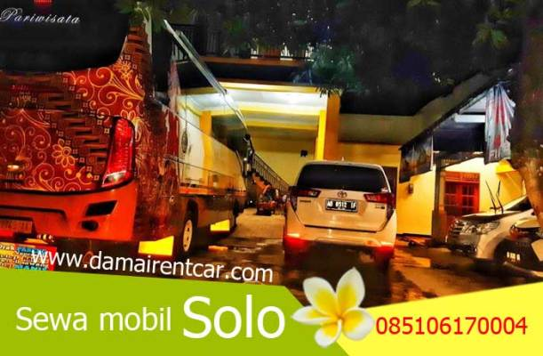 Sewa mobil solo damai rent car