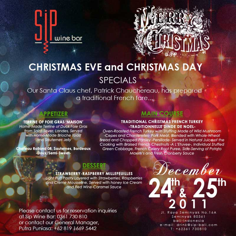 DA MAN's List of Christmas 2011 Events and Parties [UPDATE ...
