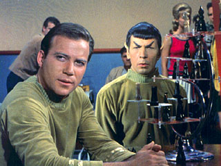 Ajedrez 3D Star Trek
