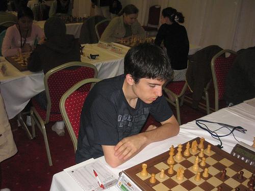 David Recuero, Mundial Sub 16 de Antalya (Turquía)