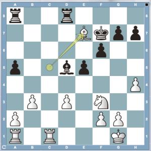 Posición final 12ª partida Mundial Anand-Gelfand, Moscú 2012