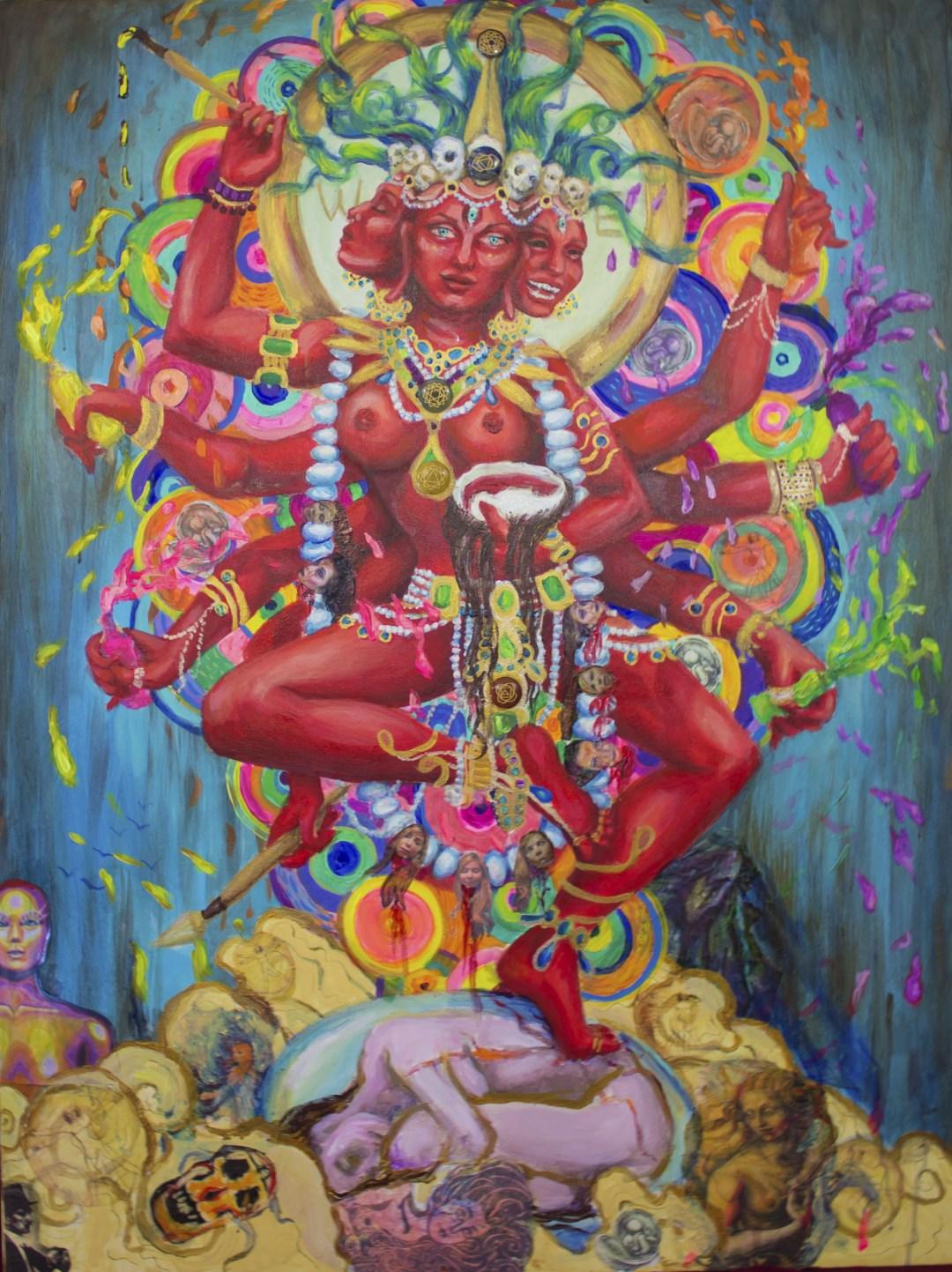 Creative Shakti Goddess of Painting