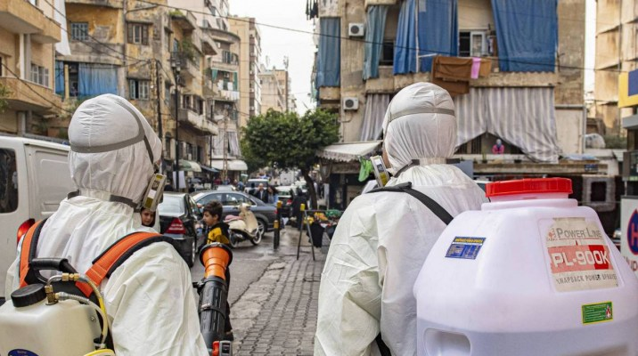 إصابة لاجئ سوري في إحدى بلدات البقاع اللبناني بفيروس كورونا