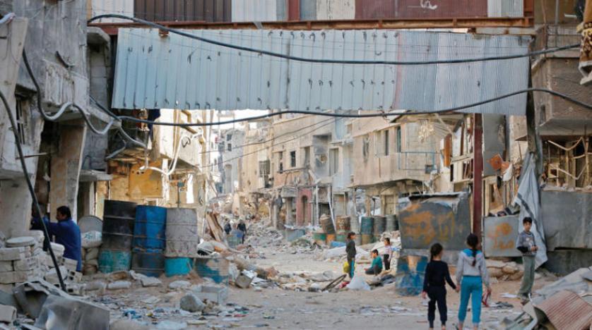 مخيم اليرموك العودة مقتصرة على عائلات عناصر النظام والميليشيات الموالية