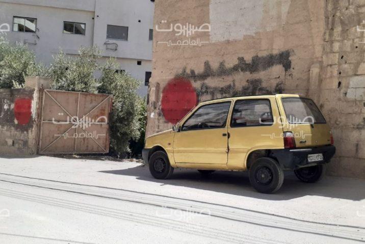 ريف دمشق عبارات مناهضة للنظام في الهامة، والأمن السياسي يعتقل متهماً بخطّها