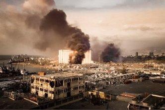 في حصيلة أولية.. وفاة 6 سوريين في تفجير مرفأ العاصمة اللبنانية بيروت