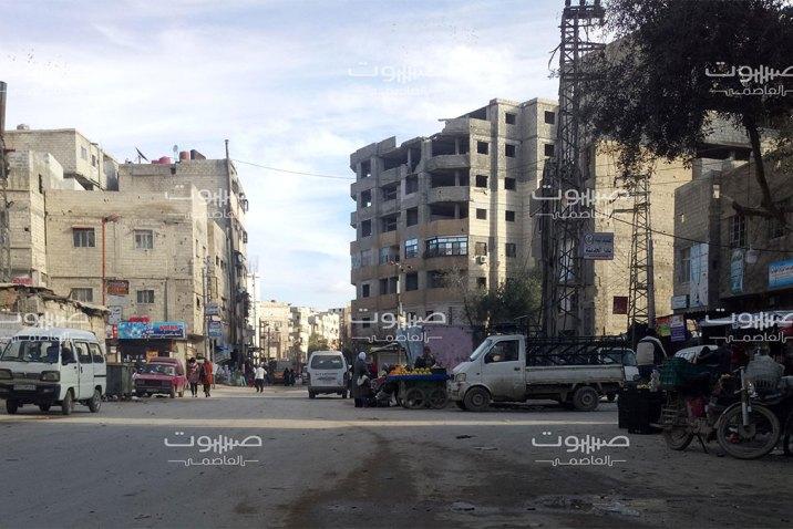 الأمن العسكري يصادر بضائع معفشة من بلدة يلدا في ريف دمشق