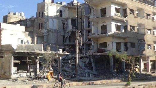 برعاية الرابعة والأمن العسكري.. نشاط كبير لتجارة المخالفات في معضمية الشام