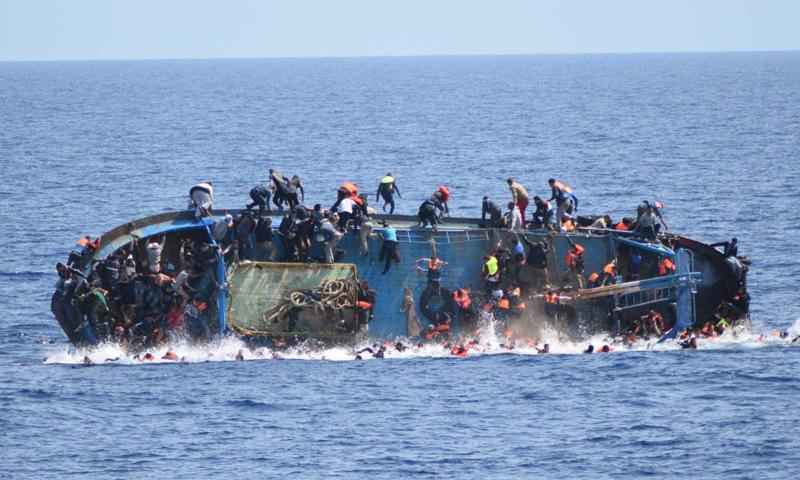 ينحدران من ريف دمشق.. وفاة رجل وزوجته غرقاً قبالة السواحل الإيطالية
