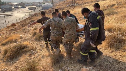 وفاة فتاة سورية أثناء محاولتها عبور الحدود اللبنانية - السورية