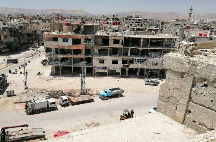 الغوطة الشرقية الأمن العسكري يُلاحق المطلوبين للخدمة العسكرية في عربين
