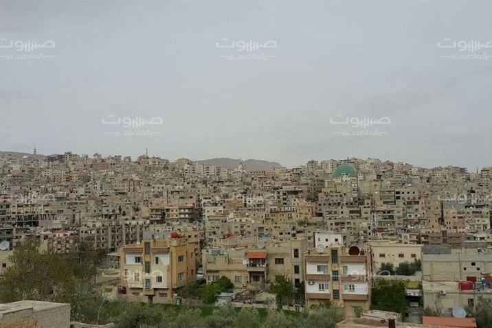 ريف دمشق العبارات المناهضة للنظام تعود إلى شوارع مدينة التل