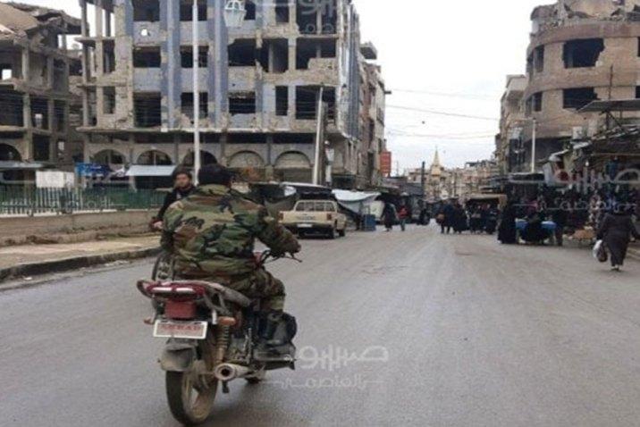 استخبارات النظام تحظر تجوّل الدراجات النارية في الغوطة الشرقية