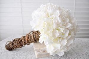 Magical White Bride Bouquet