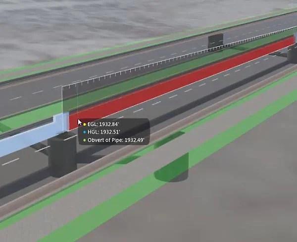 排水設計およびエンジニアリング ソフト   InfraWorks 360