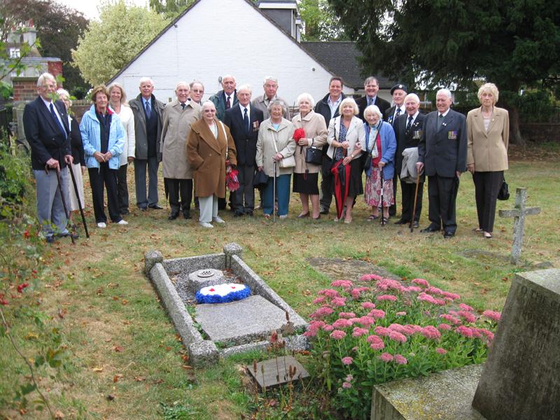 D Maltby grave 14.9.09