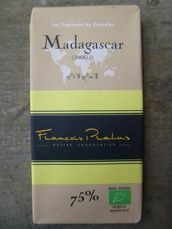 Pralus is one of very few makers to own a plantation on Madagascar, where criollo comprises the majority of cacao grown.