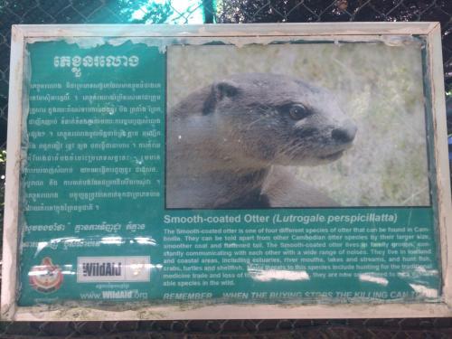 Sigh in Phnom Tamao Animal Park