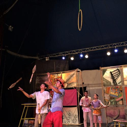 A Night at the Cambodian Circus with Phare Ponleu Selpak