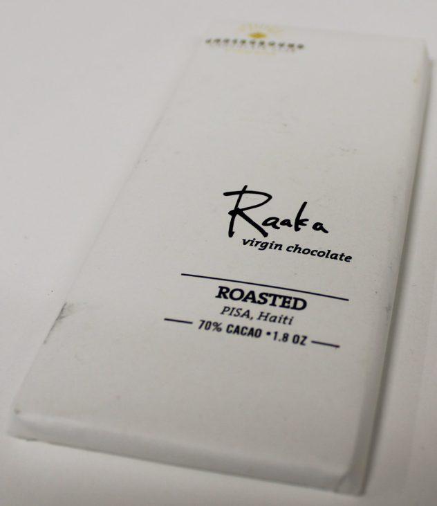 raaka roasted chocolate underground haiti pisa front of bar