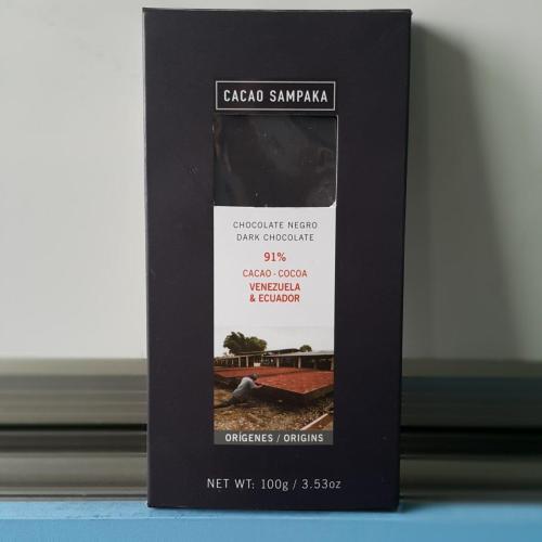*Cacao Sampaka Rio Seco 70%