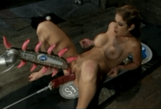 Masturbační mašina v plném zatížení