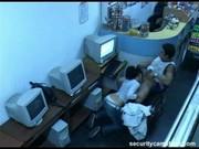 Security kamera odhalí sex v internetové kavárně