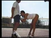 Češka Laura Angel hraje sexuální tenis