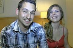 Sympatický španělský pár si zašuká před profesionální kamerou!