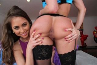 Riley Reid, Kendra Lust a jeden šťastný penis!