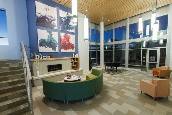 Long Beach Senior Arts Colony main lobby