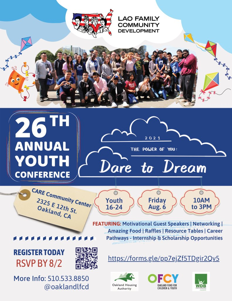LFCD 26th Annual Youth Conference Flyer
