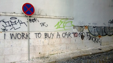 """Denis Bocquet/Lisbon 2013: """"I work to buy a car to go to work""""/Flickr"""