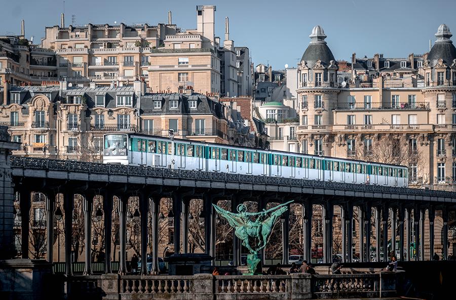 Paris Metro France
